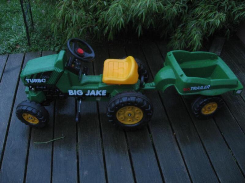 big traktor mit anh nger in hessen bad homburg. Black Bedroom Furniture Sets. Home Design Ideas