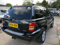 Jeep Cherokee Automatic 2.7 Diesel Estate 4x4 - 2004