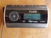 Pure Highway In Car DAB Digital Radio with FM Transmitter