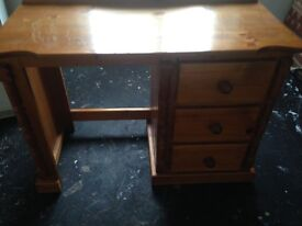 Two solid pine dressers
