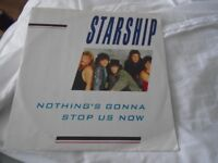 Starship vinyl LP Nothing's gonna stop us now