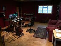 Music studio / production room to share