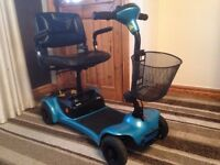 ultralight 480 mobility scooter comes apart to put in a car 11 months old cost £900 bargain £350ono