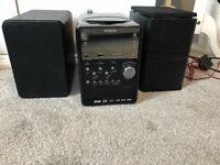 Hitachi stereo/cd player
