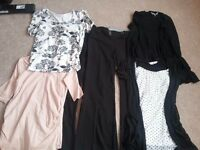 Selection of Maternity Clothes , size 10 (excellent condition)