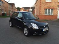 2009 SUZUKI SWIFT GLX 12 MONTH MOT FULL SERVICE HISTORY LOW MILEAGE HPI CLEAR