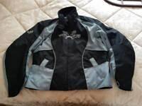 Frank Thomas ladies motorcycle jacket (LL)