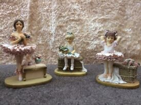 Collectables- Ballet Figures by Christine Haworth ( Leonardo Collection )