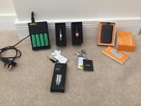 Smok Koopor TFV12 TFV4 18650 batteries and charger E-Cigarette E-Cig