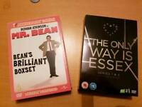 Mr Bean and Towie boxsets