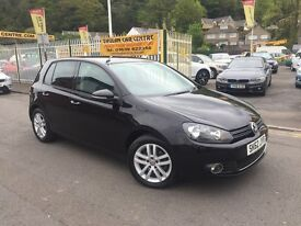 VOLKSWAGEN GOLF 2.0 TDI BlueMotion Tech GT 5dr (black) 2012