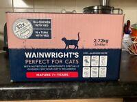 Wainwright's 7+ Cat wet cat food tuna/chicken