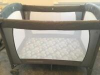 Baby bed and chair