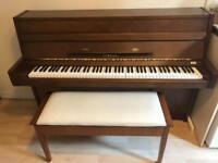 Yamaha M108 upright piano, 1970, walnut