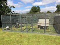 Bird aviary,dog run,cat pen,rabbit,hen run enclosures and panels