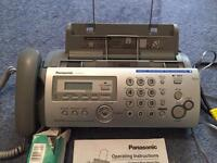 Telephone fax answering machine copy