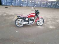 Honda cb 250 registered as 125