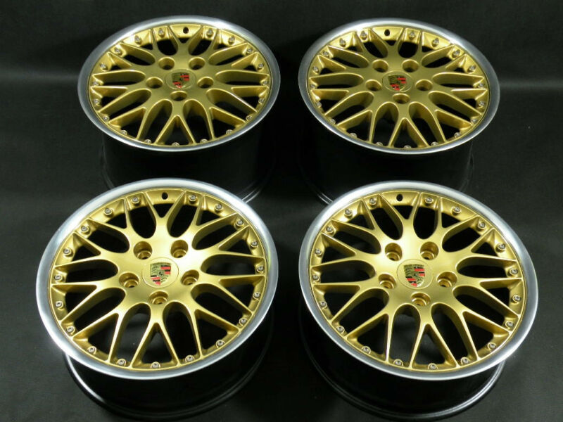 Porsche Genuine 18 Bbs Classic Sport Ii Oem Factory Wheels 911 996 986 993 Turbo