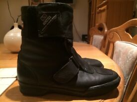 Motorcycle off_road boots, size 43 , almost unused