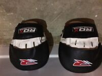 BBE Boxing Gloves and RDX Boxing Target Punch Mitts