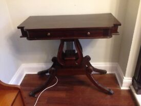 Mahogany Console/Hall Table - good condition £55 ono