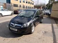 Zafira Exclusive 1.6L 2011 long mot service history excellent condition 7 seater