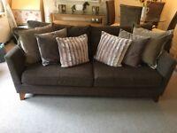 Next 3 Seater Sofa & Snuggle Chair