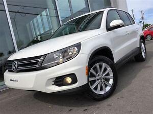 2013 Volkswagen Tiguan 4MOTION CUIR TOIT OUVRANT  BAS KILO !