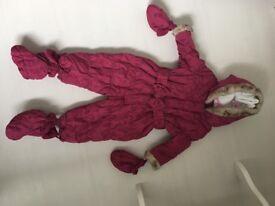 Baby Snowsuit 9-12months
