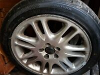 VOLVO v70 alloy wheel and tyre