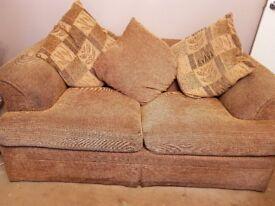 4seater +3seater sofa