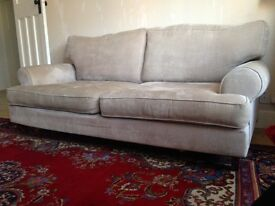 Next 3 Seater Sofa (Beige)