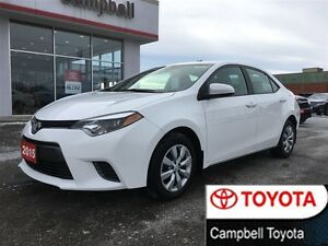 2015 Toyota Corolla LE HEATED CLOTH REAR CAMERA JUST IN