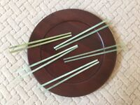 Jade Chopsticks. Authentic (Chinese). 5 Beautiful, Unique, Pairs. Seller purchased in China in 1992