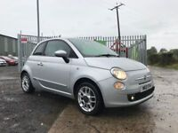 Late 2009 Fiat 500 1.2 Sport **Full History** (Finance and Warranty** (mini,beelte,ka,fiesta)