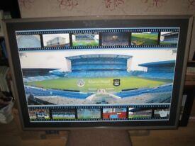 Manchester City Maine Road {1923 - 2003} Rare Memorabilia Large Framed Print {105 x 74cm}
