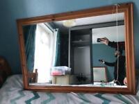 Brown mirror