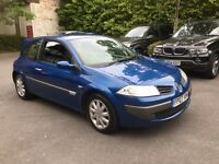 2007 Renault Megane 1.9 DCI air con leather seats CD player 45mpg