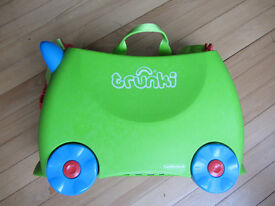 Trunki Ride-on Childrens Suitcase Excellent As New Condition £12