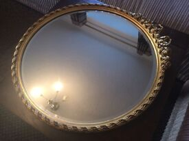 @@LARGE ORNATE BEVELLED MIRROR, EXCELLENT CONDITION@@