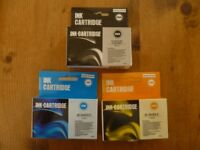 Printer Ink Cartridges x 5 (extra large).