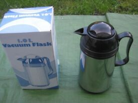 Brand New One Litre Vacuum Flask for £5.00