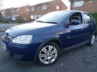 55k Low miles Vauxhall Corsa 1.2 16V Active 4dr 12 Months Mot Hpi clear, Cheap fuel ,insurance,Tax