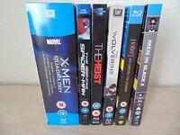 9 Blu-Rays DVDs