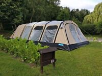 Stunning Kampa Studland Classic Air Family Tent - 2016 Model, Used Once!