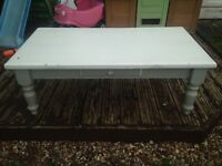 Shabby chic coffee table! Needs work!