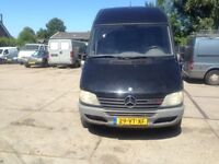 LEFT HAND DRIVE MERCEDES BENZ SPRINTER,DRIVES VERY WELL,GOOD LOAD SPACE,ENGINE & MECHANICS,CALL ME