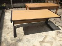 office desk large with cable hide away