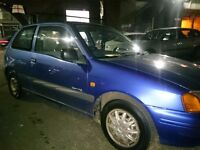 1998..TOYOTA STARLET 1.3...LONG MOT..2 OWNERS..SERVICE HISTORY