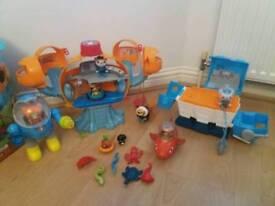 Octonauts set of toys